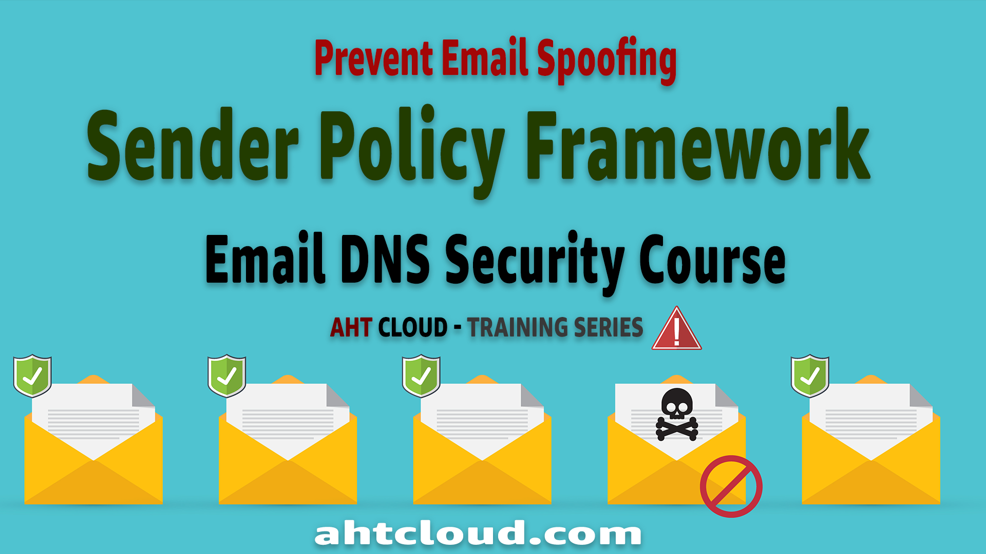 Email SPF Record Tutorial – Sender Policy Framework (SPF) | Prevent Email Spoofing | DNS Course By Emad Zaamout
